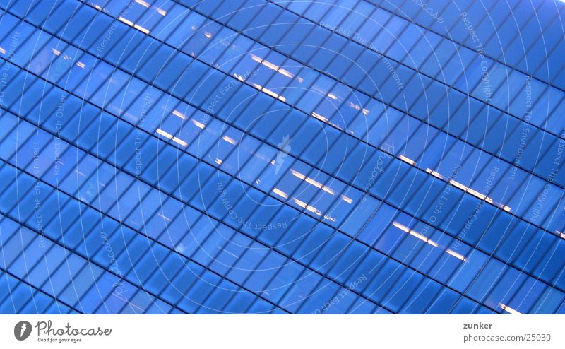 Fensterfront Himmel Haus Fenster Architektur Glas