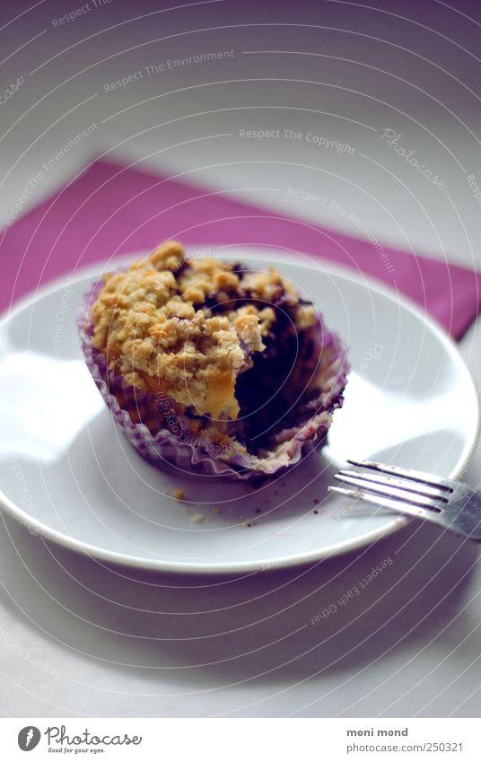 Baubeer Muffin weiß schön Farbe Zufriedenheit rosa natürlich Lebensmittel gut Wunsch violett genießen Süßwaren lecker Kuchen Teller Duft