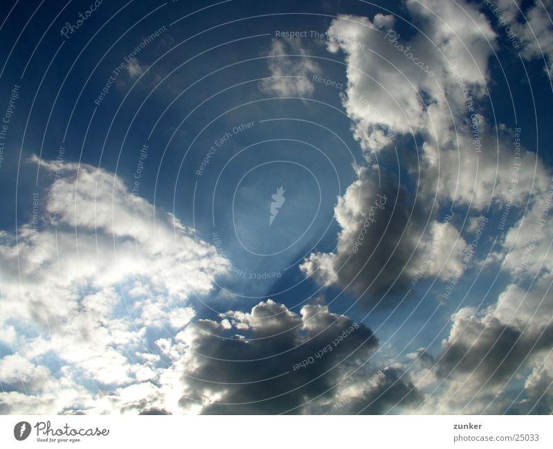 Lichterspiel Wolken Himmel Sonne Beleuchtung Regen