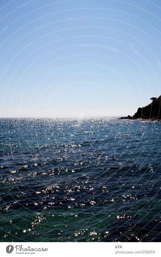 cala llevadó Himmel Natur Wasser blau Sommer Meer Erholung kalt Umwelt Freiheit Landschaft Küste Horizont Schwimmen & Baden frisch Frieden