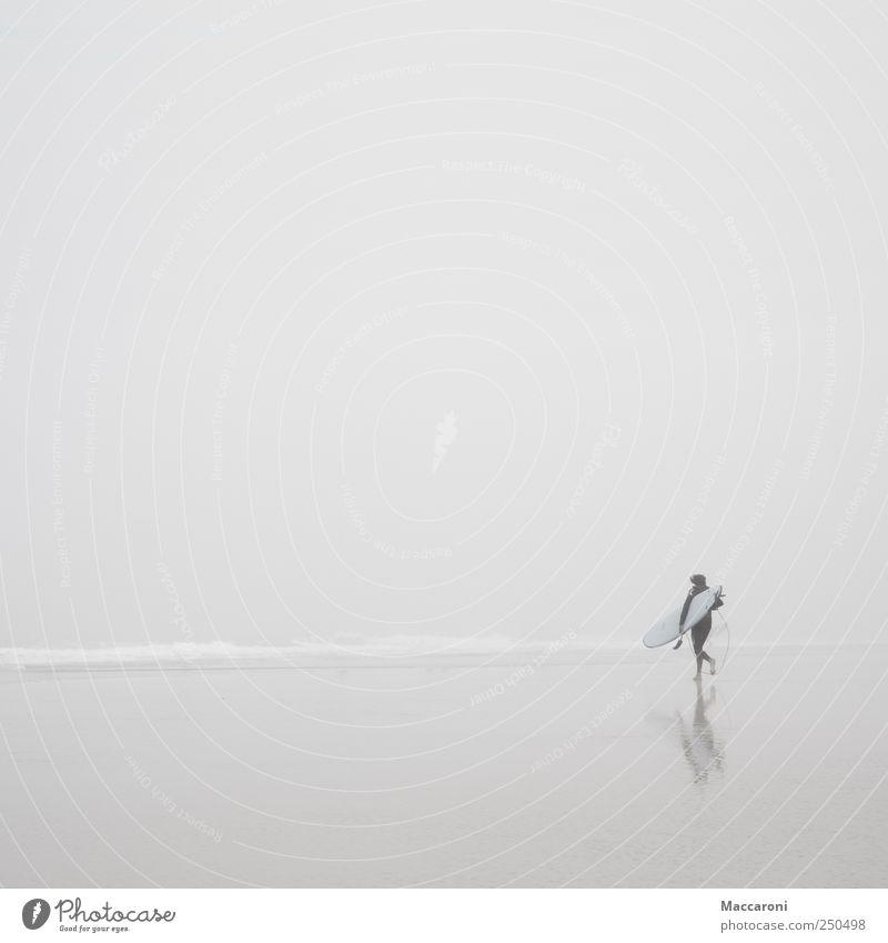 Der Himmel muss das Meer sein Mensch Jugendliche Ferien & Urlaub & Reisen Wasser Landschaft Freude 18-30 Jahre Strand Erwachsene Umwelt Sport Küste