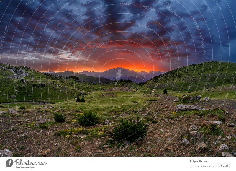 Himmel Natur Ferien & Urlaub & Reisen blau schön Landschaft Wolken Wald Berge u. Gebirge Umwelt natürlich Wiese Tourismus Felsen Freizeit & Hobby wild