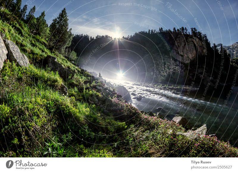 Montcasau schön Freizeit & Hobby Tourismus Abenteuer Sommer Berge u. Gebirge wandern Umwelt Natur Landschaft Himmel Park Wald Hügel Felsen Gipfel Teich See