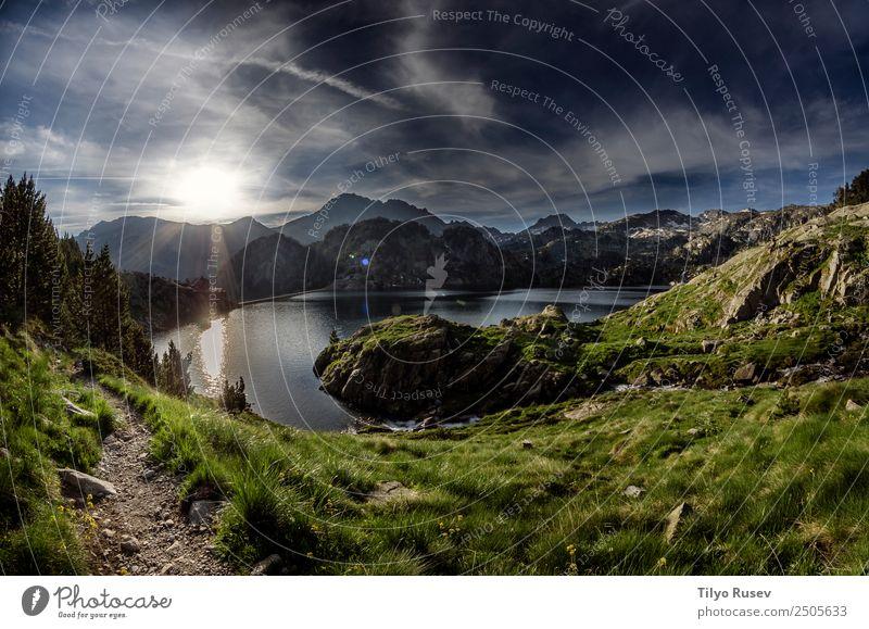 Himmel Natur Ferien & Urlaub & Reisen Pflanze schön Landschaft Wolken Wald Berge u. Gebirge Umwelt Wege & Pfade natürlich Tourismus See Felsen wild