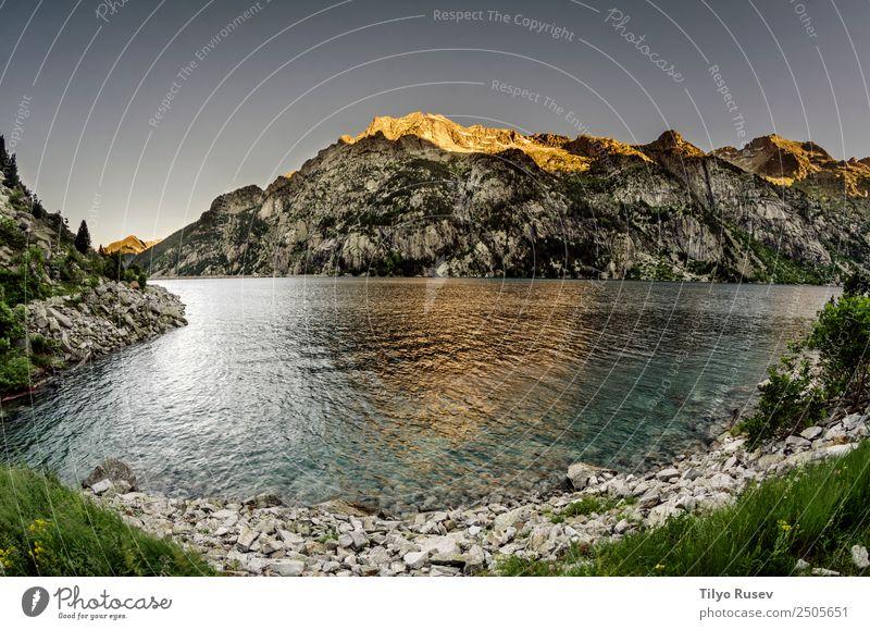 Himmel Natur Ferien & Urlaub & Reisen blau schön Landschaft Wald Berge u. Gebirge Umwelt natürlich Tourismus See Felsen Freizeit & Hobby wild wandern