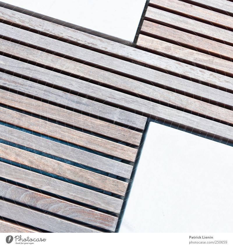 Stadtzebra Holz Linie Kunst Platz außergewöhnlich Holzbrett Kunstwerk Muster