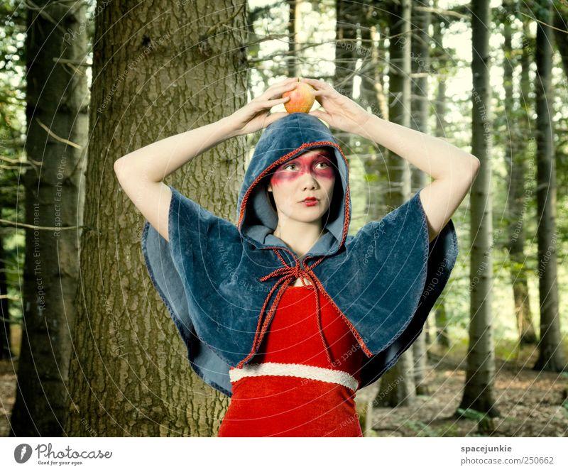 The Saga of Wilhelm Tell Mensch Natur Jugendliche rot Wald feminin Tod Landschaft Gefühle Erwachsene Stimmung bedrohlich einzigartig außergewöhnlich Apfel