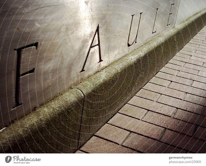 Faule Stil Mauer Metall Architektur Perspektive Rostock