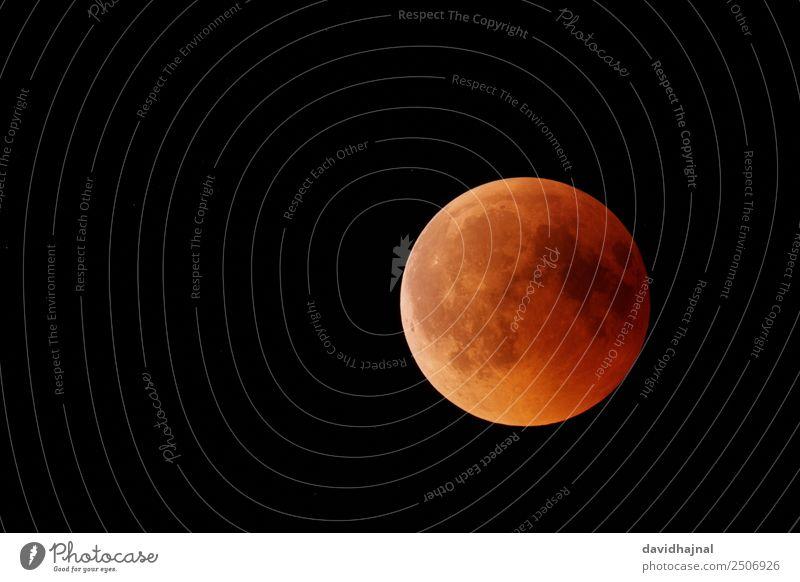 Mondfinsternis 27. Juli 2018: Halbschatten Himmel Natur Sommer rot Ferne 18-30 Jahre schwarz gelb Umwelt Freiheit Deutschland orange Ausflug