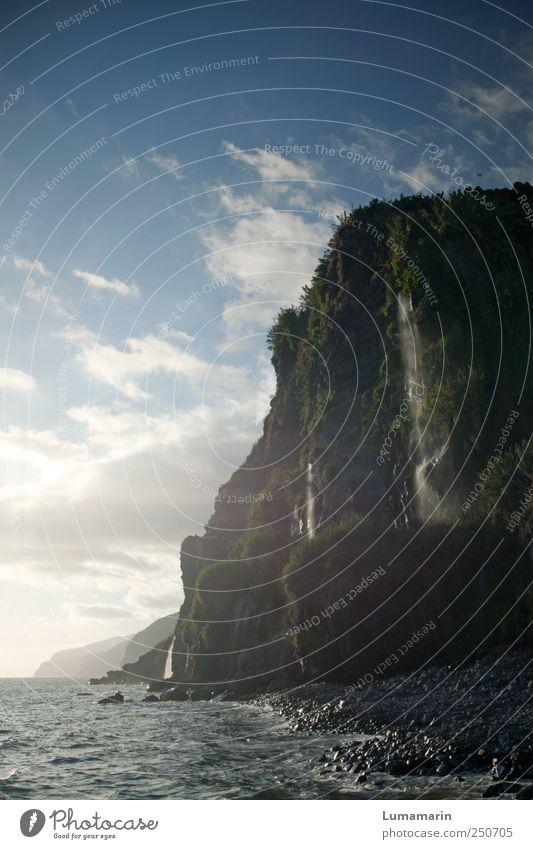 Majestät Himmel Natur Wasser schön Ferien & Urlaub & Reisen Strand Meer Wolken Einsamkeit Erholung Freiheit Umwelt Landschaft Küste Luft Erde