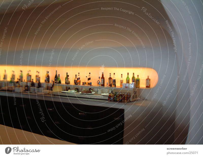 Baaaar Raum Architektur Glas rund Bar Lanzarote César Manrique Mirador del Rio
