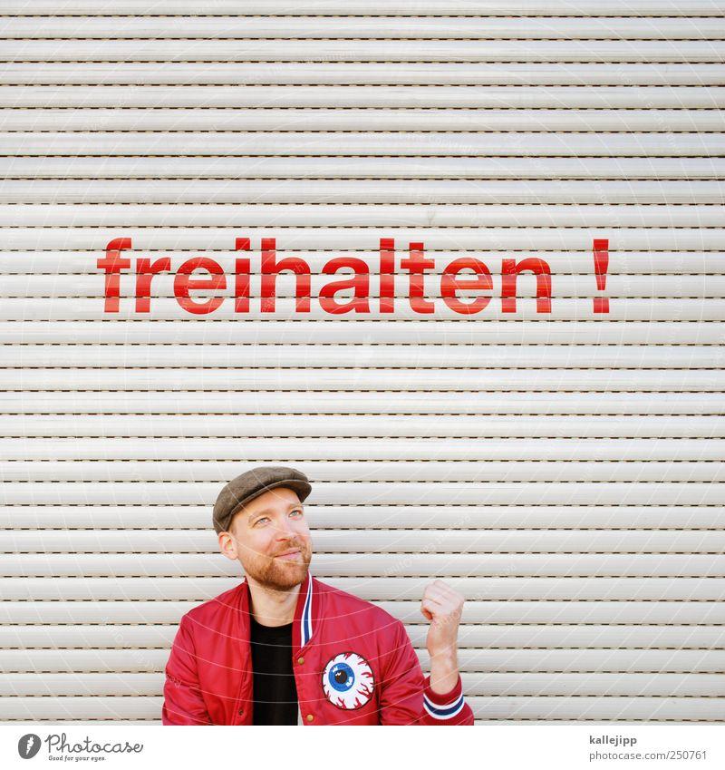 mart-in germany. Mensch Mann Jugendliche rot Freude Gesicht Freiheit Kopf Glück Erwachsene frei maskulin Schriftzeichen Lifestyle Hinweisschild Zeichen