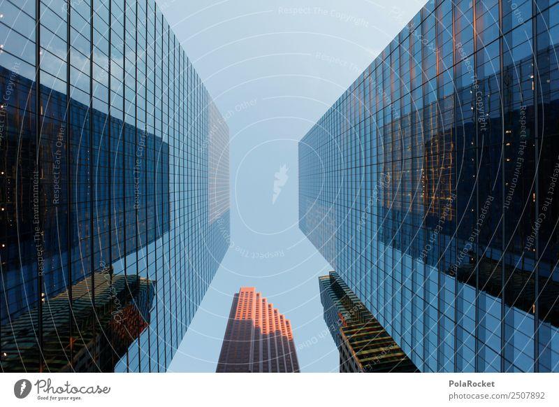 #A# rich view Kunst ästhetisch hoch Himmel Hochhaus Hochhausfassade Großstadt Bankenviertel Bankgebäude Geldinstitut Kapitalwirtschaft Kapitalismus