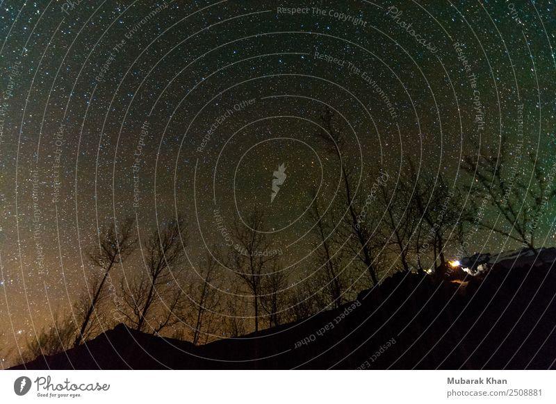 Sterne im Spiti Umwelt Natur Nachthimmel Berge u. Gebirge skurril Tourismus Milchstrasse Landschaft Menschenleer