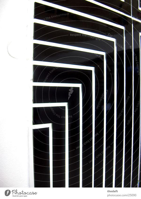 Lichtkunst schwarz hell Kunst Architektur modern Gegenteil grell