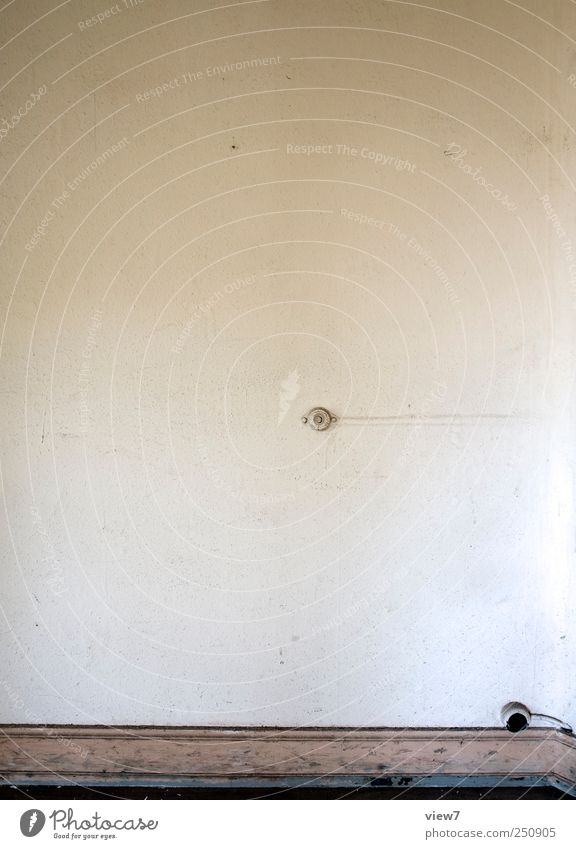 Frank Meinhardt alt Einsamkeit Wand Mauer Stein Beton Ordnung Beginn ästhetisch authentisch Häusliches Leben retro einfach Dekoration & Verzierung Vergänglichkeit Möbel