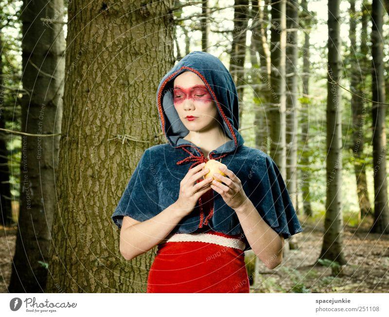 The Saga of Wilhelm Tell (2) Frau Mensch Natur Jugendliche blau schön Baum Pflanze rot Wald feminin Landschaft Gefühle Erwachsene Denken Stimmung