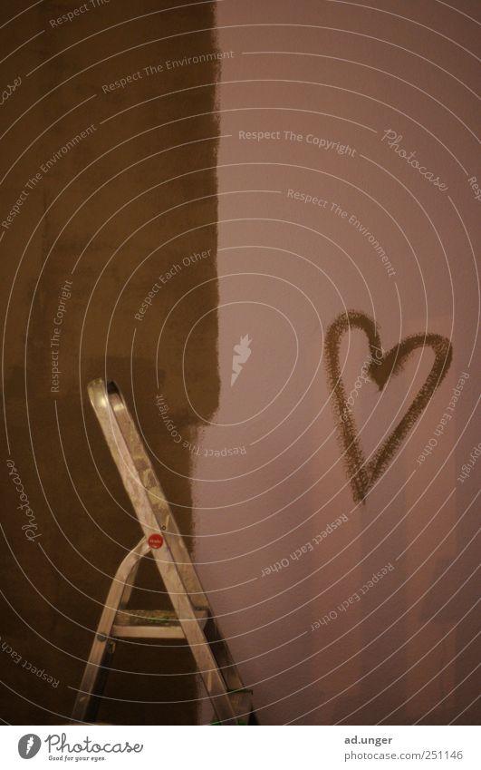 Des Maler's Lust Wand Mauer Wohnung Innenarchitektur Romantik Dekoration & Verzierung streichen Umzug (Wohnungswechsel) Leiter Renovieren Anstreicher Schlafzimmer Feierabend