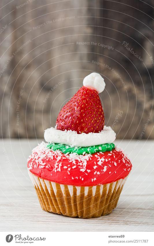 Chirstmas Muffins Lebensmittel Foodfotografie Dessert Süßwaren Gesunde Ernährung Ferien & Urlaub & Reisen Dekoration & Verzierung Feste & Feiern