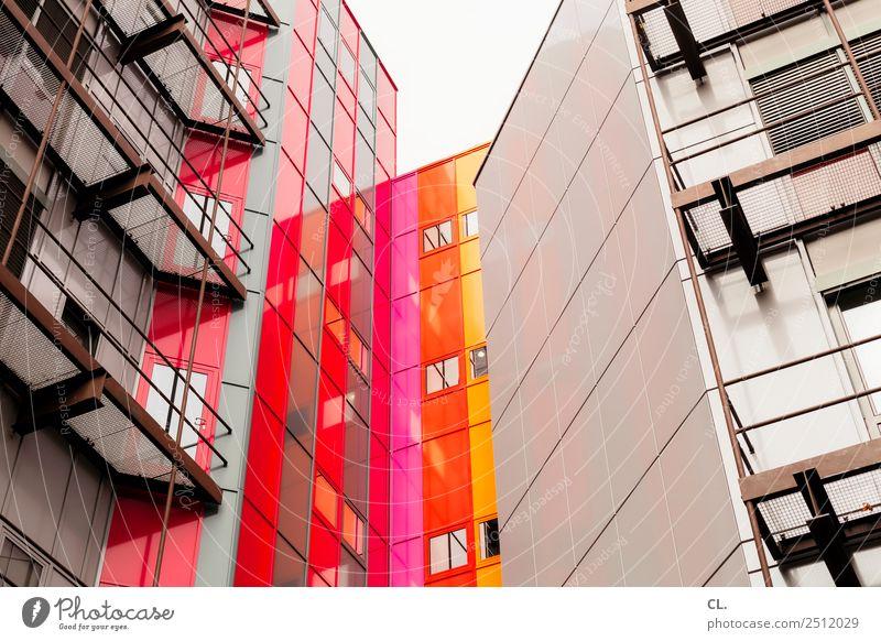 hochhaus, essen Studium Büro Baustelle Business Unternehmen Stadt Essen Stadtzentrum Menschenleer Hochhaus Bauwerk Gebäude Architektur Mauer Wand Fassade