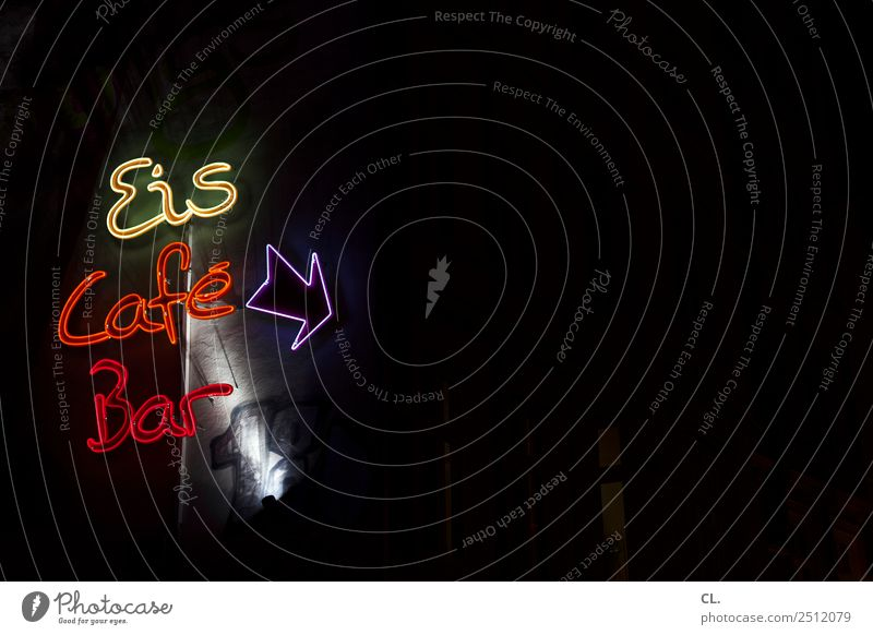 vergnügungsviertel, hamburg Freude dunkel Essen Party Feste & Feiern Freizeit & Hobby Ernährung Schriftzeichen Schilder & Markierungen genießen Lebensfreude
