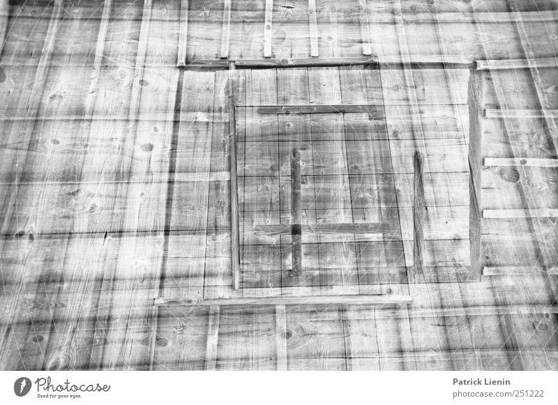 CHAMANSÜLZ   _   alt Fenster Holz Architektur Gebäude Fassade einfach Bauwerk Denkmal Hütte Doppelbelichtung Sehenswürdigkeit eckig
