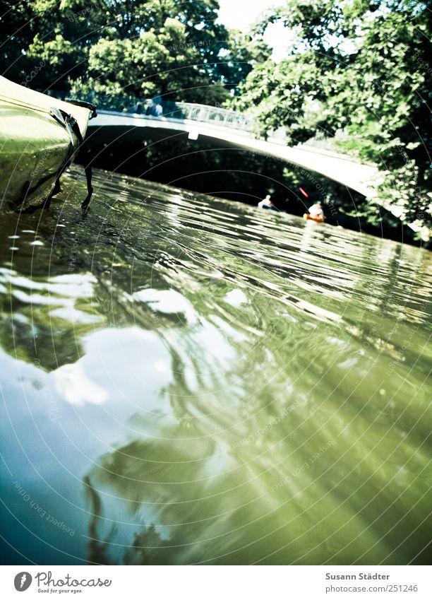 drifting. Ferien & Urlaub & Reisen Pflanze Sommer Tier Küste Wellen Freizeit & Hobby Geschwindigkeit Ausflug Abenteuer Brücke Urwald Angeln Flussufer Kanu Rudern