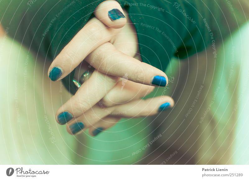 CHAMANSÜLZ | no sleep Mensch Frau Jugendliche Hand schön Erwachsene Erholung Leben feminin Stil Stimmung Zufriedenheit Freizeit & Hobby warten elegant Finger