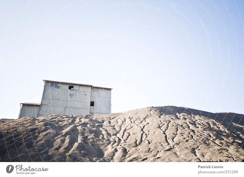 CHAMANSÜLZ | strange world Himmel Natur blau Einsamkeit Umwelt Landschaft Architektur Gebäude Wetter Kunst Erde Klima Wandel & Veränderung Urelemente Fabrik Sehnsucht