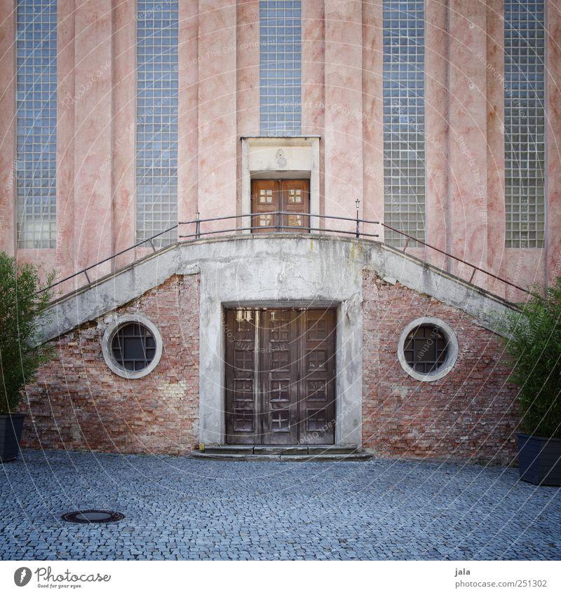 CHAMANSÜLZ | pulverfabrik Pflanze Topfpflanze Haus Industrieanlage Fabrik Bauwerk Gebäude Architektur Mauer Wand Tür Sehenswürdigkeit Denkmal Farbfoto