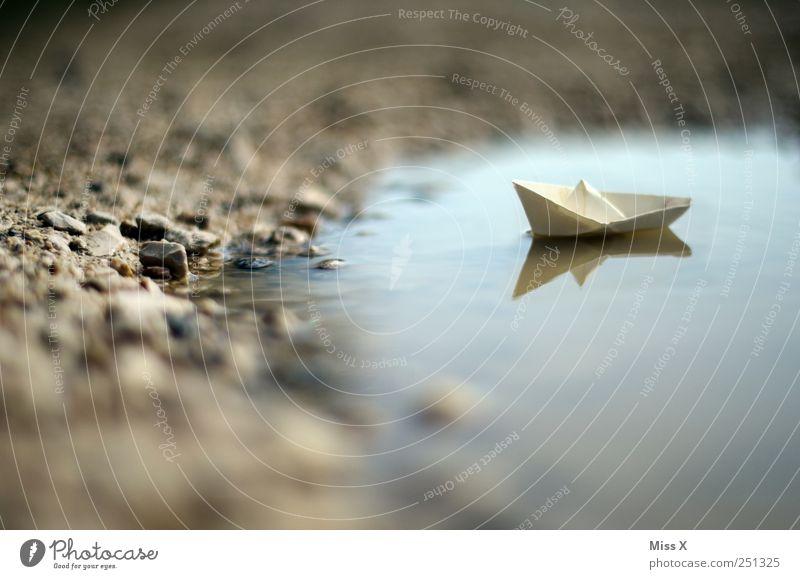 wohin geht die Reise? Spielen Basteln Ferien & Urlaub & Reisen Abenteuer Kreuzfahrt Küste Teich See Schifffahrt Schwimmen & Baden klein Papierschiff Origami