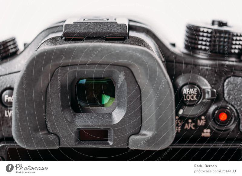 Digitalkamerasucher Nahaufnahme Bildschirm Hardware Videokamera Fotokamera Technik & Technologie Zeichen Schriftzeichen Ziffern & Zahlen Schilder & Markierungen
