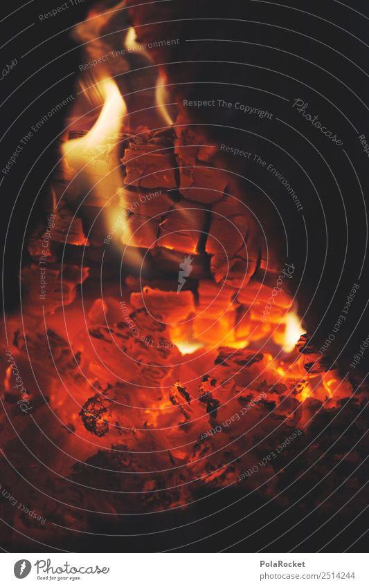 #A# Pure Heat Kunst Kunstwerk ästhetisch Feuer Brand Feuerwerk Feuerwehr Feuerstelle Lagerfeuerstimmung Glut Wärme brennen Farbfoto Gedeckte Farben