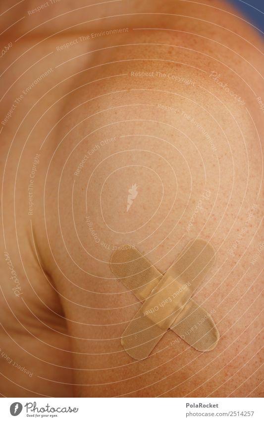 #A# 1xAutsch Kunst ästhetisch Heftpflaster Kopfsteinpflaster pflastern Schmerz Arzt Medikament Medizintechnik heilig Heilung Gesundheit Impfung Wunde Haut Arme