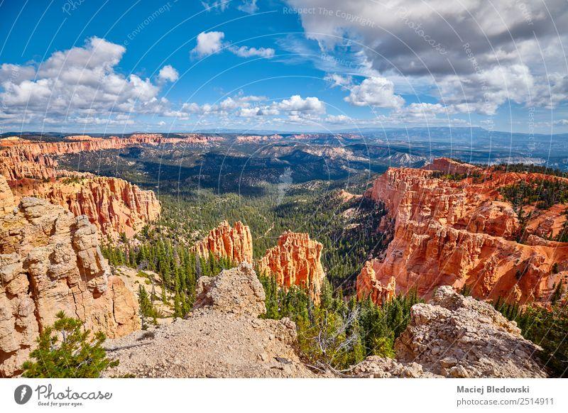 Bryce Canyon Nationalpark, USA. Ferien & Urlaub & Reisen Abenteuer Ferne Freiheit Expedition Camping Sommer Sommerurlaub Berge u. Gebirge wandern Natur