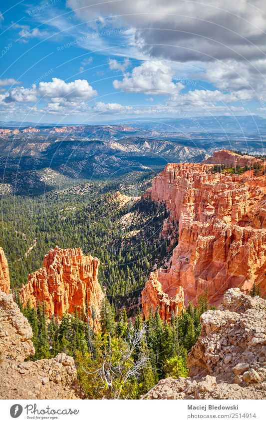 Bryce Canyon Nationalpark, Utah. Ferien & Urlaub & Reisen Ausflug Abenteuer Ferne Expedition Camping Sommer Sommerurlaub Berge u. Gebirge wandern Natur