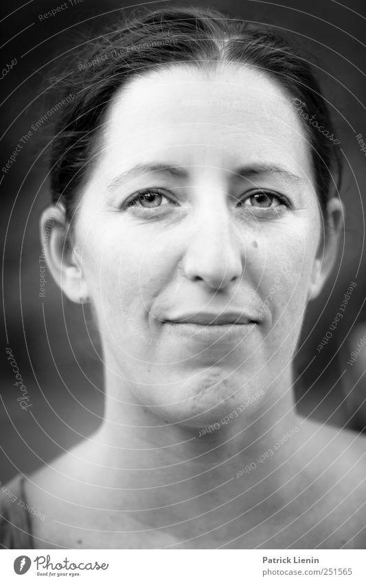 Eine Jala | Chamansülz Mensch feminin Frau Erwachsene Kopf Gesicht Auge 1 30-45 Jahre Haare & Frisuren frech Freundlichkeit Fröhlichkeit schön einzigartig