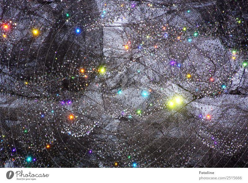 Feentanz Kunst Party außergewöhnlich elegant glänzend hell nah modern schön mehrfarbig grau Netz Farbfoto Gedeckte Farben Außenaufnahme Detailaufnahme
