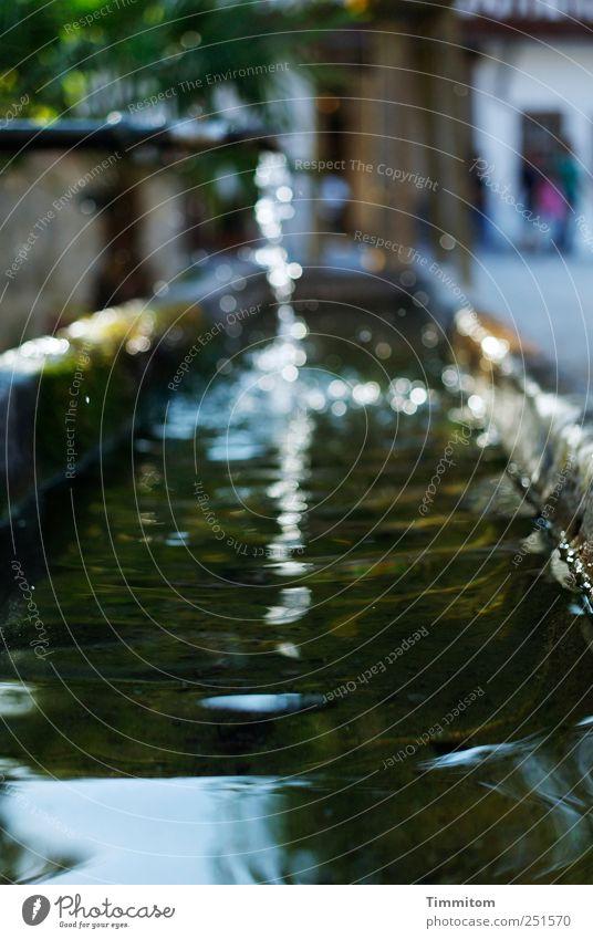 [CHAMANSÜLZ 2011] - Der Lebensbrunnen (für A.) Wasser Glatt Dorf Platz Stein Metall glänzend ästhetisch frisch nass natürlich schön blau braun Gefühle Akzeptanz