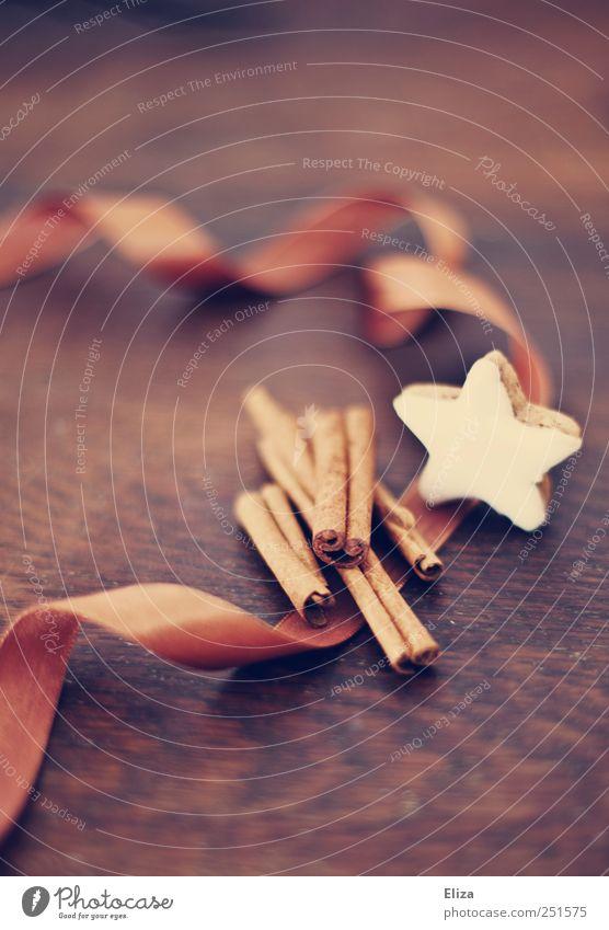 Mh, wie das duftet... Teigwaren Backwaren Kitsch lecker Zimt Zimtstern Geschenkband Dekoration & Verzierung Duft Küche gemütlich Weihnachten & Advent