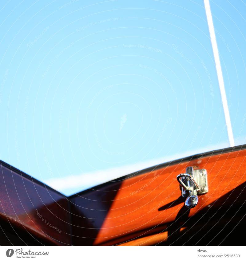 Good Morning Amsterdam Himmel Schönes Wetter Schifffahrt Segelboot Seil Schloss Luke Holz frisch maritim Lebensfreude Sicherheit Schutz Geborgenheit Neugier