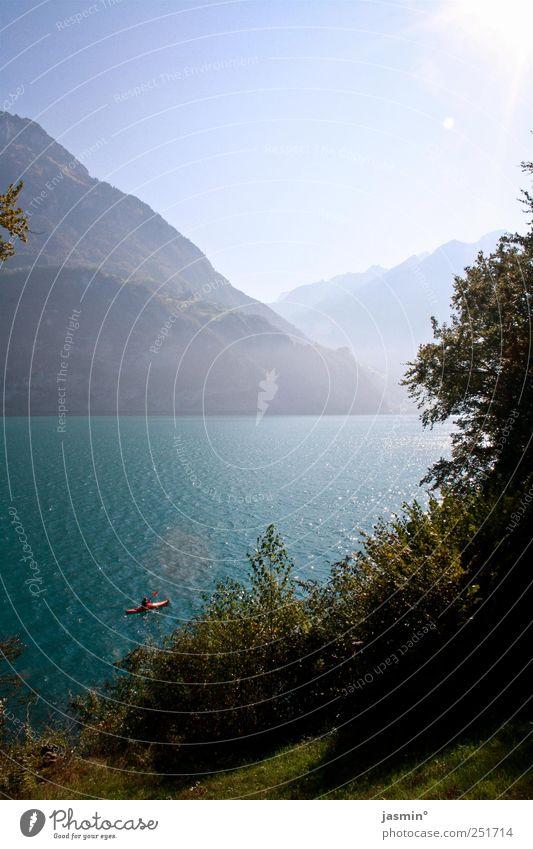 mal abschalten Natur ruhig Umwelt Berge u. Gebirge Landschaft See Seeufer Schönes Wetter