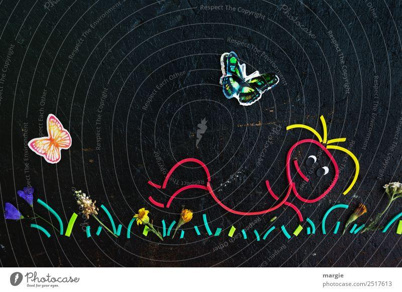 Gummiwürmer: Endlich Sommer! Wohlgefühl Freizeit & Hobby Ferien & Urlaub & Reisen Ausflug Sommerurlaub Sonne Sonnenbad Garten Mensch maskulin feminin androgyn