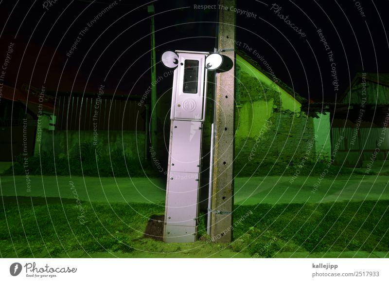 digital native Mensch Stadt grün Haus Auge lustig Kunst Körper Technik & Technologie Energiewirtschaft Zukunft Elektrizität Dorf Hütte Wissenschaften