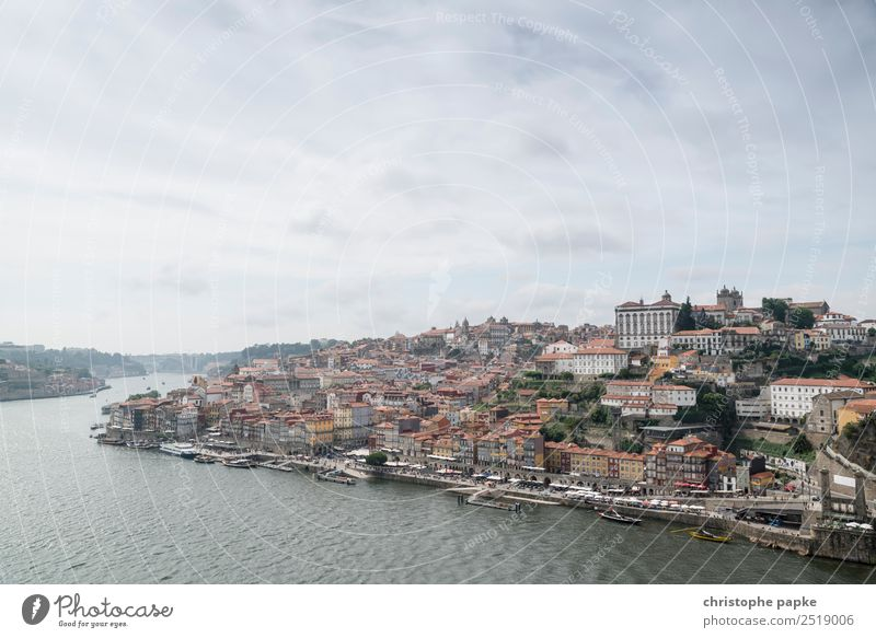 Porto tags Ferien & Urlaub & Reisen historisch Fluss Städtereise Altstadt Douro