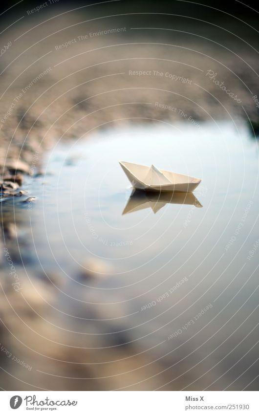 Schiffchen Basteln Freiheit Kreuzfahrt Schifffahrt Bootsfahrt Wasserfahrzeug Schwimmen & Baden klein Ferien & Urlaub & Reisen Papier Origami Bastelspaß Pfütze