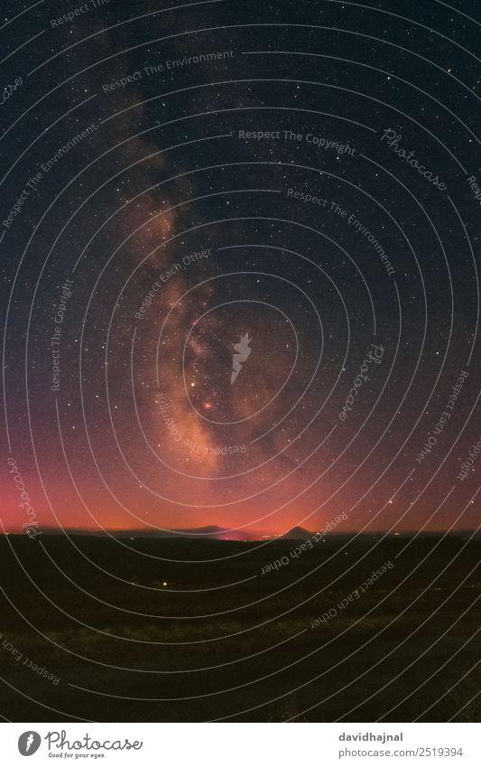 Hegau Gebirge Tourismus Ausflug Abenteuer Sightseeing Wissenschaften Astronomie Umwelt Natur Landschaft Erde Himmel Wolkenloser Himmel Nachthimmel Stern