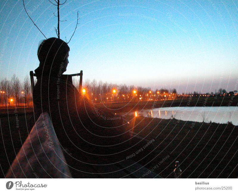 anton in amsterdam. Nacht Licht Amsterdam Stadt Wasser Bank Morgen Treppe