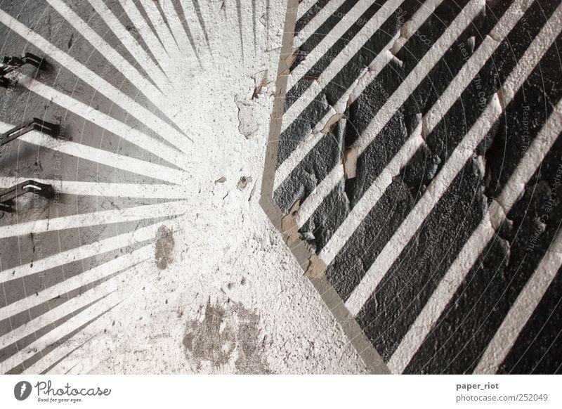 Linien (radial vs. diagonal) Grafik u. Illustration Graffiti Stein Zeichen Toleranz Beginn Stil deutsch Weltmeisterschaft Raster kaputt verfallen alt Lack