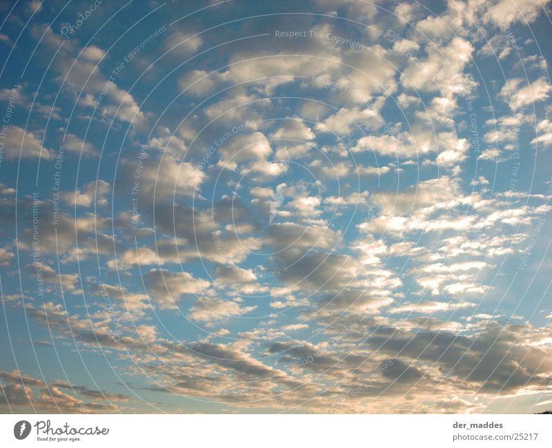 Himmellos weiß blau Wolken Luft Graffiti